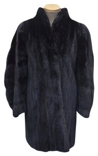 Black Ranch SUPER SOFT MINK FUR Fur Coat