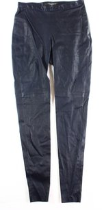 Black Ribbon L.K. Bennett Casual Leather Pants