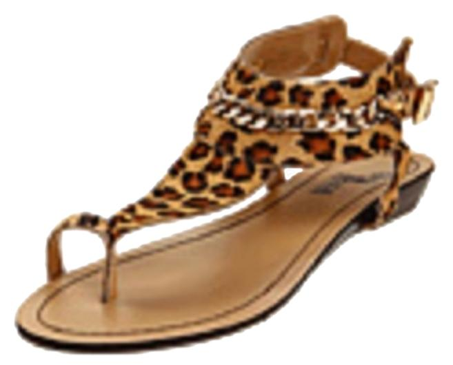 black rooster quot digit quot leopard sandals on sale 51 sandals on sale at tradesy