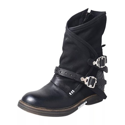 Preload https://item5.tradesy.com/images/black-women-s-rugged-buckle-strap-leather-punk-motorcycle-bootsbooties-size-us-7-regular-m-b-26058749-0-2.jpg?width=440&height=440