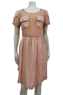 Bless'ed are the Meek short dress Peach nude Blessed on Tradesy