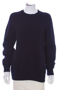 Blumarine Oversized Longsleeve Crew Knit Wool Stretchy Comfy Sweater