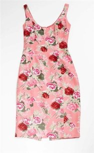 Blumarine short dress Pink Coral Rosette on Tradesy