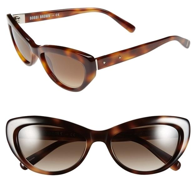 Bobbi Brown -'The Kennedy' 54mm Sunglasses