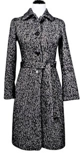 Boss by Hugo Boss Belted Lined Wool Mohair Trench Coat