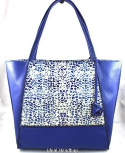 Botkier York Leather Soho Tote in Blue