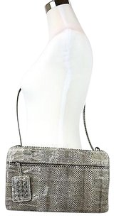 Bottega Veneta Python Clutch Shoulder Bag