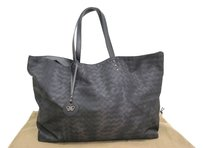 Bottega Veneta Tote Black Clutch