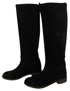 Boutique 9 Womens Solid Black Boots