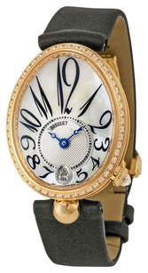 Breguet Breguet Reine de Naples Mother of Pearl Dial 18kt Rose Gold Black Leather