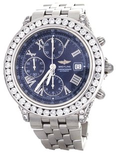 Breitling Breitling Crosswind Chronograph Stainless Steel Diamond Watch A13355