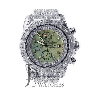 Breitling Breitling Super Avenger - All Iced Out - A13370