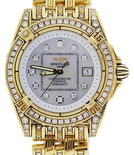 Breitling Breitling 18k Yellow Gold Lady Cockpit Limited Edition Watch K7135663
