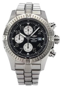 Breitling Men's Breitling Super Avenger Black Dial Watch A13370