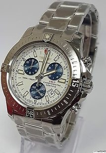 Breitling Mens Breitling Colt A7338811g790 Stainless Steel Automatic Chrono Date Watch