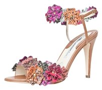 Brian Atwood Pink/Multi Sandals