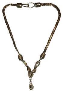 Brighton RARE Brighton Two-Tone Teardrop Necklace