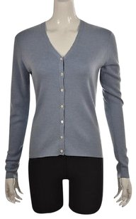 Brooks Brothers Womens Speckled Cardigan Wool Jacket Sweater
