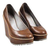 Brunello Cucinelli Brown Platforms