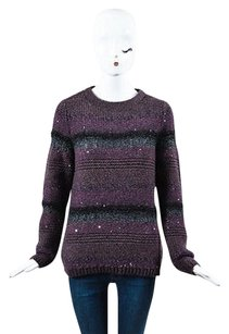 Brunello Cucinelli Purple Sweater