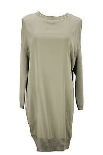 Brunello Cucinelli short dress green Womens on Tradesy