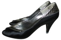 Bruno Magli Black / Silver Pumps