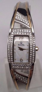 Bulova Bulova Womens Watch 98l128 Crystal Accented Mop 124 Crystals Doesnt Work