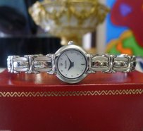Bulova Ladies Bulova Stainless Steel Mother Of Pearl Dial Round Dress Watch