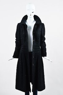Burberry Textured Woven Coat