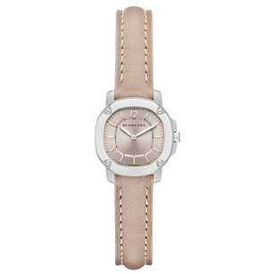 Burberry BBY1900 Unisex Swiss Britain Trench Leather Strap Watch 26mm