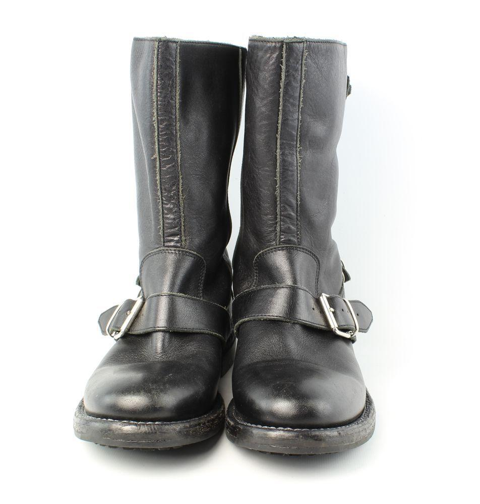 25120e504a5 ... Burberry Black Limited Edition Edition Edition  atholl  Triple Buckle -  Boots Booties Size ...
