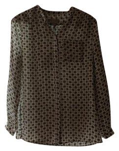 Burberry Brit Button Down Shirt Green/Multi