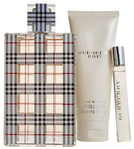 Burberry Brit For Women Set of 3
