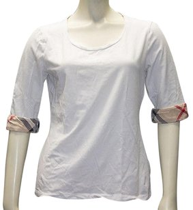 Burberry Brit Cotton T Shirt White