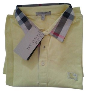 Burberry Brit T Shirt Yellow