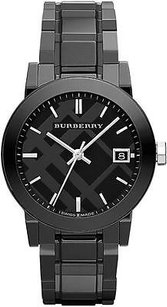 Burberry Burberry Black Ceramic Midsize Watch