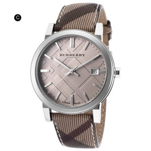 Burberry BURBERRY BU9358 BROWN LEATHER CHRONOGRAPH MENS WATCH