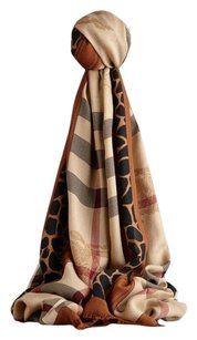 Burberry Burberry Scarf Haymarket Authentic New Large