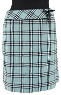 Burberry Celine Celine Mini Skirt Light Blue