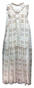 Burberry short dress tan Cream on Tradesy