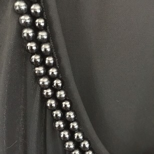 Burberry Embellished Top Black with beads