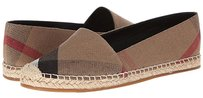 Burberry Espadrille New In Box Fashion Iconic Tartan Plaid & Check Flats