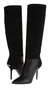 Burberry Fashion Stiletto Black Boots
