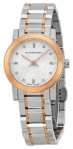 Burberry Heritage Grey Dial Two-tone Stainless Steel Ladies Watch