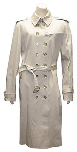 Burberry London Stone Cotton Trench Coat