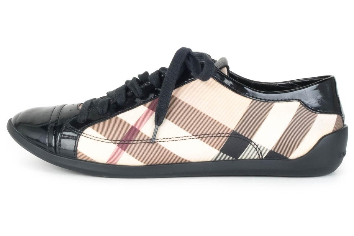 burberry sneakers check athletic shoes athletic on sale