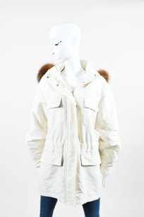 Burberry Off White Coat