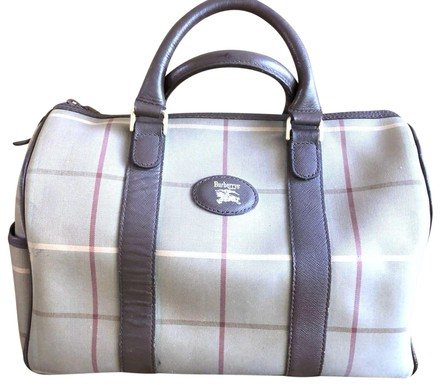 Preload https://item5.tradesy.com/images/burberry-plaid-boston-brown-and-multicolored-canvas-satchel-23888149-0-1.jpg?width=440&height=440