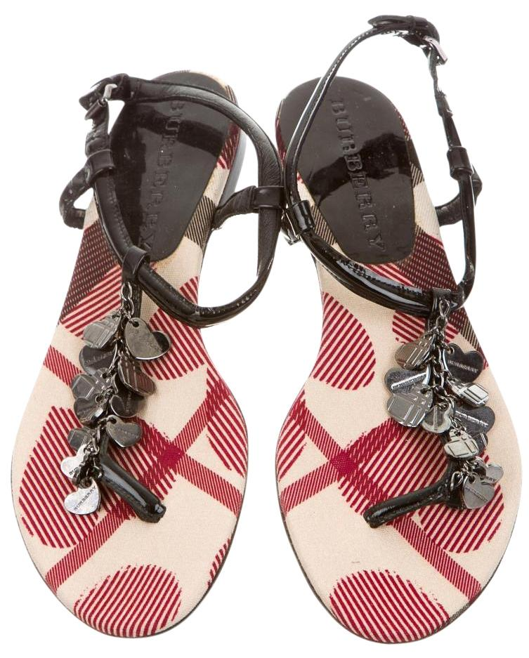 cheap sale ebay clearance get to buy Burberry Embellished T-Strap Sandals cheap very cheap clearance professional buy cheap huge surprise PbFvz