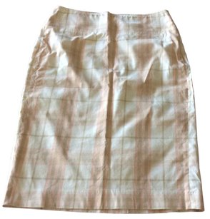 Burberry Skirt Plaid pastel colors